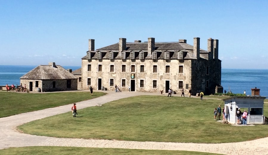 french castle fort