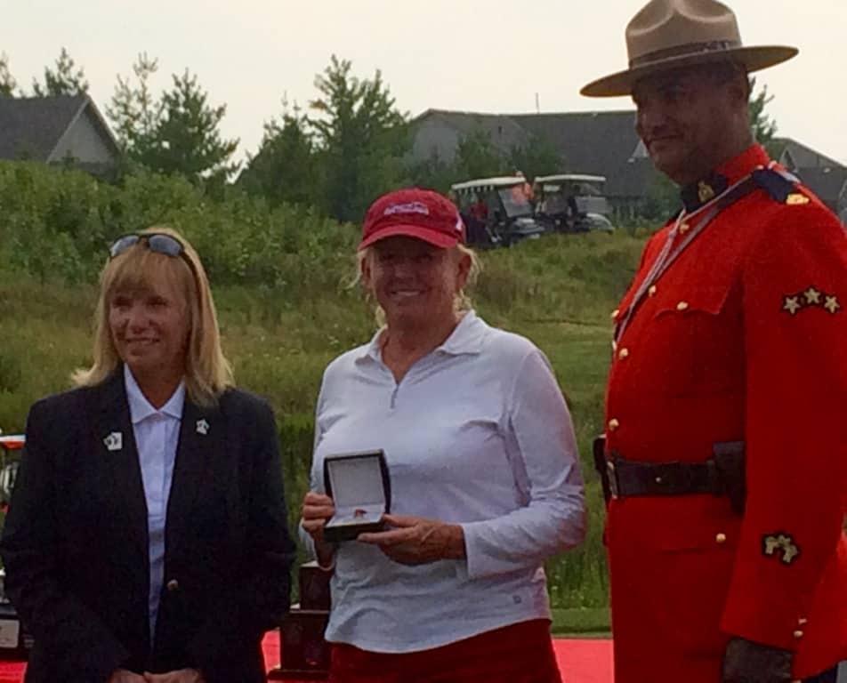 mounted award